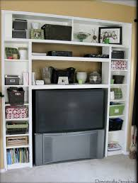 Ikea Bookshelves Built In by Remodelaholic Ikea Bookcase To Built In Desk Nook Hack