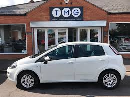 used fiat punto white for sale motors co uk