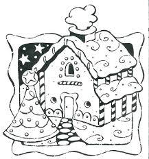house colouring gingerbread house coloring pages pdf man picture free children