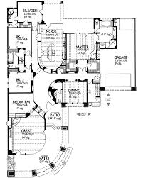contemporary southwestern home plan 16370md architectural - Southwestern Home Plans