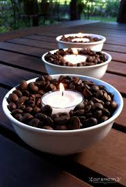 coffee bean candle coffee bean candle holders cut pastry