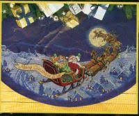 counted cross stitch patterns chart table runner tree