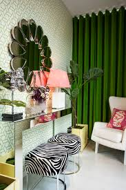 Zebra Dining Room Chairs Decorating Elegant Dining Room Design By Interdesignwith Brown