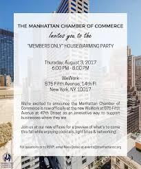 register for housewarming manhattan chamber on calling all members join us on 8 3