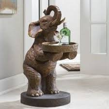 Elephant Side Table You Should See This Elephant S Majesty Coffee Table In Gray On