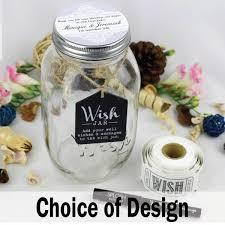 wedding wishes jar engagement keepsake wish jar personalised engagement keepsake