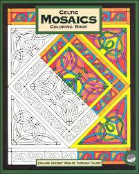 celtic mosaics coloring book 033746 details rainbow resource