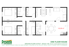 house project one floor house presanella