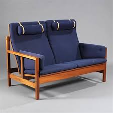 two seated high back sofa model 2252 by børge mogensen on artnet