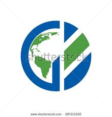 letter g globe logo template logos rates