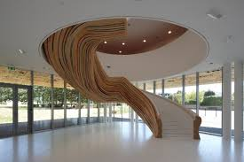 Unique Stairs Design Unique Stair Design For Special Spot Indoor And Outdoor Design Ideas