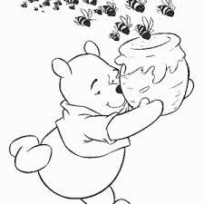 winnie pooh coloring pages u2013 birthday printable