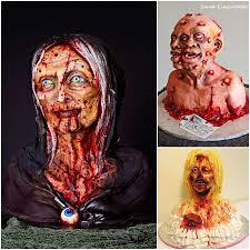 Scary Cakes For Halloween Deliciously Horrible Super Scariest Zombie Cakes For Halloween