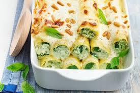 cuisiner epinard recette de cannelloni épinards chèvre et pignon la recette facile