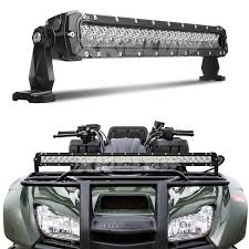 Light Rack 20 Inch 100w Led Light Bar Spot Flood Combo 8 560 Lumens Cree