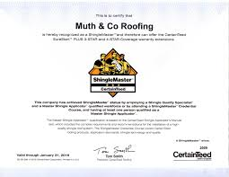roofing certificate u0026 fc and sons roofing and waterproofing