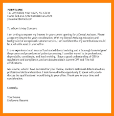 5 dental assistant cover letter examples letter of inquiry