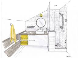 Small Bathroom Layouts With Shower Only Custom 60 Bathroom Drawing Design Decoration Of Bathroom Drawing