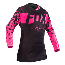womens motocross jersey fox women 180 jersey black pink 2016 mxweiss motocross shop