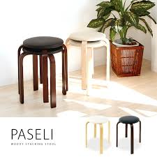 Round Chair Name Marusiyou Rakuten Global Market Paseli Parsley Wooden Stool Of