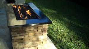 Fire Pit With Glass by Lp Gas Fireplace And Fire Pit Stop Burning Or Lose Flame Height