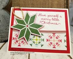 creating with becky u0027s stamping spot blog quilted christmas