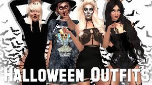 Create Halloween Costume Sims 4 Create Sim 4 Halloween Cc List