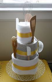 kitchen tea gift ideas best 25 kitchen towel cakes ideas on thoughtful