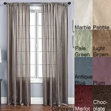 108 Inch Panel Curtains 108 Inches Silk Curtains U0026 Drapes Shop The Best Deals For Dec
