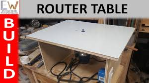 making a router table router table under 20 diy youtube