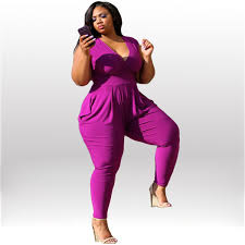 cheap jumpsuits for cheap v neck sleeveless fitted plus size jumpsuit