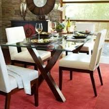 dining room tables glass top foter