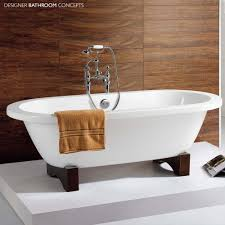 Freestanding Bathroom Accessories by Windsor Designer Freestanding Roll Top Bath Main Image
