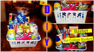 gift baskets for college students diy gift basket for a college student