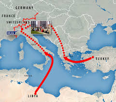 Milano Italy Map by Refugees Stuck In Milan U0027bottleneck U0027 Demand Access To Central
