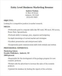 Cosmetic Resume Examples by 50 Business Resume Examples Free U0026 Premium Templates