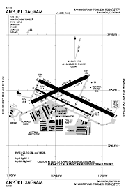 San Diego Airport Terminal Map by Montgomery Field Airport Wikipedia