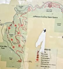 Map Of Denver Area Trail And Park Reviews Corwina Park And The Panorama Point Trail