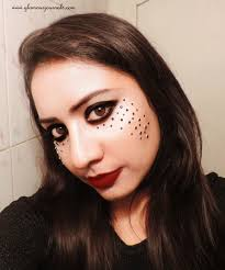 dark princess halloween makeup u0026 tutorial glamour journals