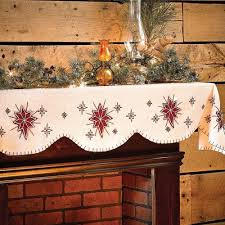 decor mantel scarves shelf runners simply chic homes