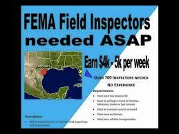 fema help desk phone number is fema really hiring inspectors at 4k 5k per week abc15 arizona