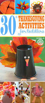 30 thanksgiving activities for toddlers activities