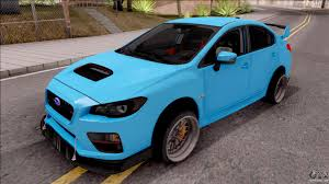 2015 subaru wrx modified subaru wrx sti 2017 tuning for gta san andreas