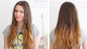Pretty Colors To Dye Your Hair How To Ombre Your Hair At Home Diy Loreal Wild Ombre Kit