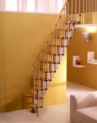 Small Staircase Design Ideas Model Staircase Neutral Minimalist Wooden Staircase Design For