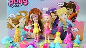 polly pocket toys dress dolls polly pocket sparkle beach party
