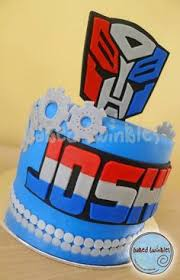 transformers cakes optimus prime u0026 bumble bee transformers party