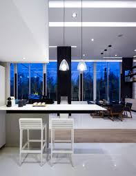 decorative glass kitchen cabinets apartment dining room kitchen mexico city apartment by archetonic