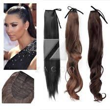 ponytail extension ponytail hair wrap extensions ebay