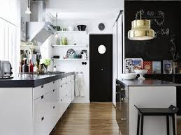 Small Industrial Kitchen Design Ideas Moody Floral Scandinavian Kitchen Design With Copper Accessories